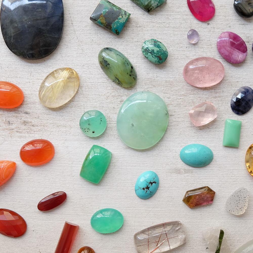 カーリン・コルスター・ケリ 石の指輪
