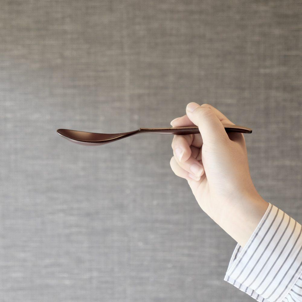 Maki FUSHIMI Lacquered Bamboo Spoons